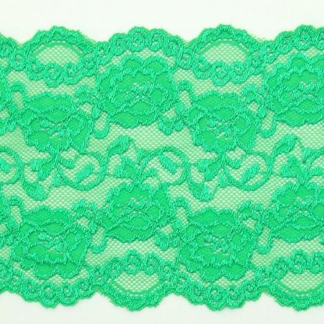 5cm鲜绿色蕾丝花边/服装辅料/3.0元/米