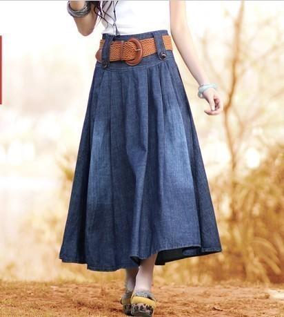 女装夏装半裙搭配图片