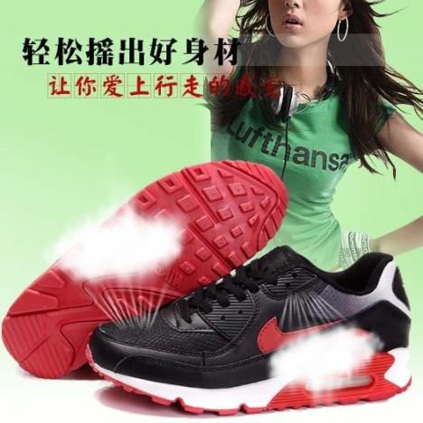 耐克内增高女鞋运动鞋搭配