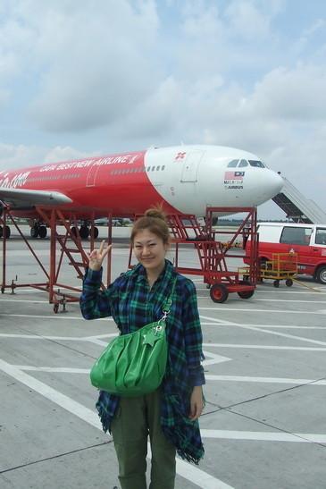 亚航降落的吉隆坡廉价机场lcct