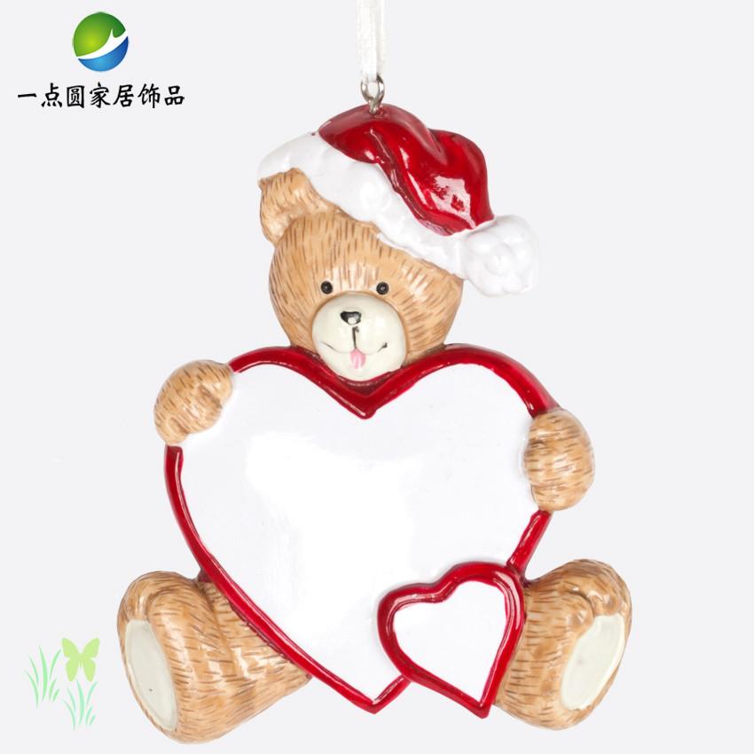 爱心 圣诞小熊 功能:悬挂在房间,庭院,车中 送朋友的生日小礼物 结婚