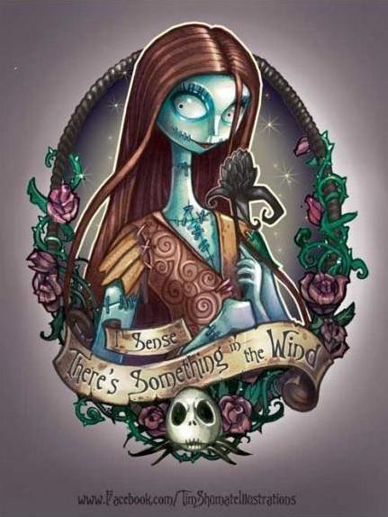 童话公主也纹身 > 这样的圣诞夜惊魂你们喜欢吗?