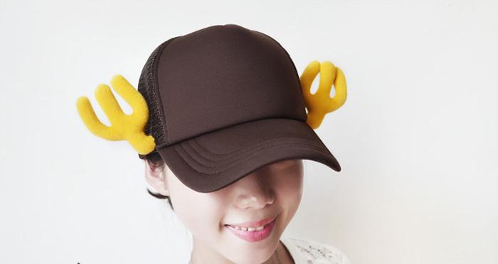 原创创意手工可爱棒球帽