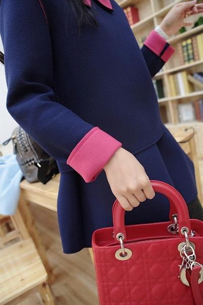 韩国太空棉绒俏皮可爱娃娃裙子套装