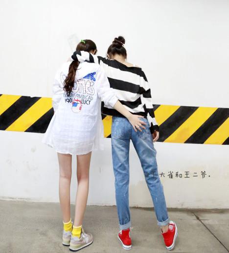 网友锦小盖和王二爷分享二爷搭配
