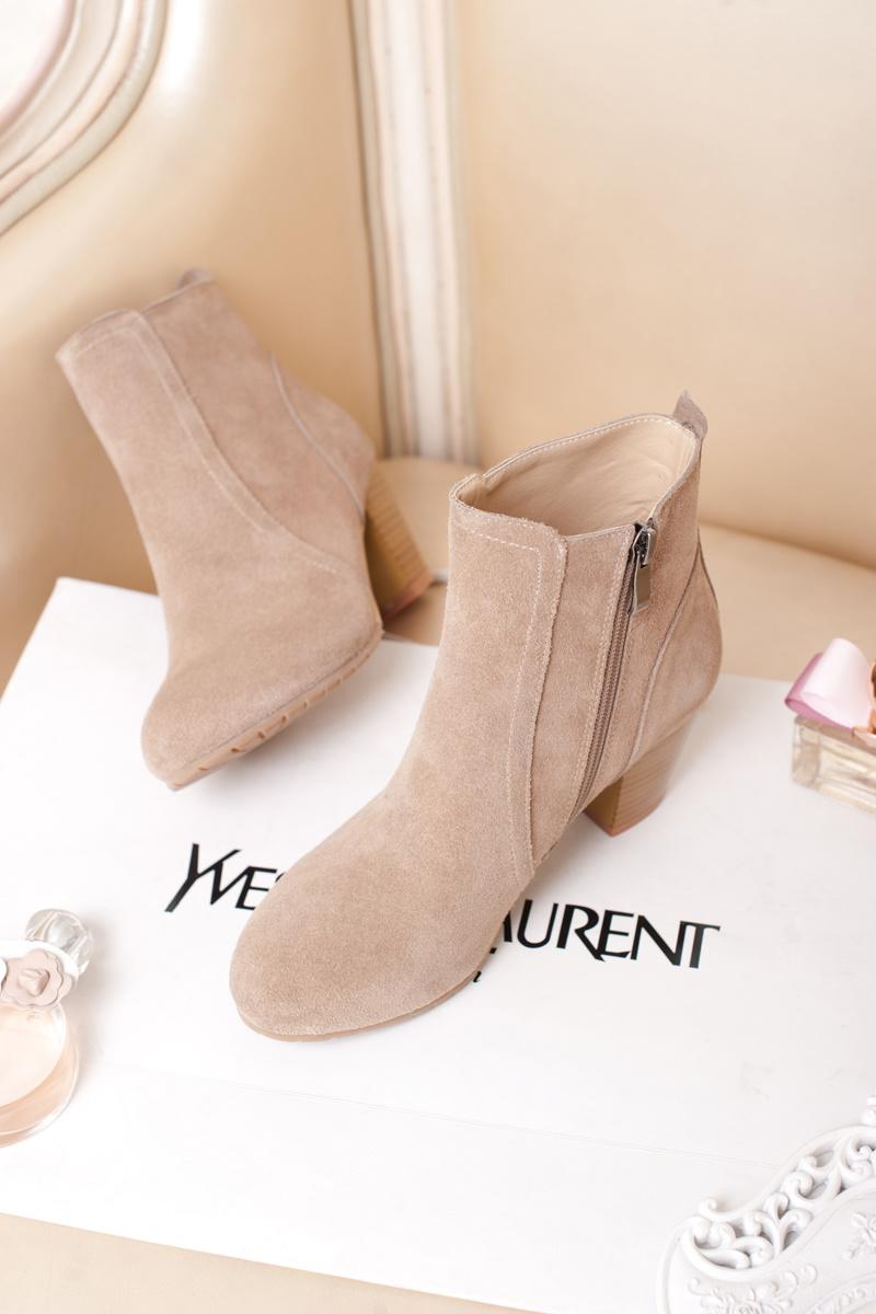 【欧美大牌款短靴】-鞋子-靴子