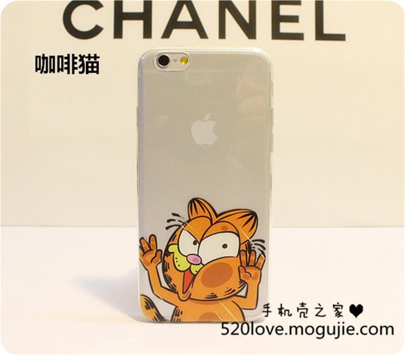 iphone6/6plus可爱挤脸保护壳