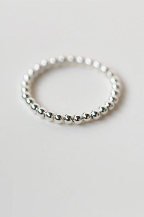925纯银转运珠戒指