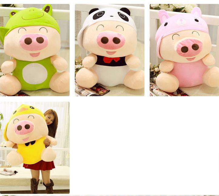 可爱卡通动物麦兜猪