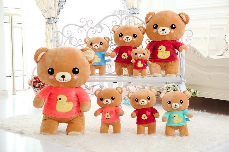 森系,毛绒玩具,公仔,布娃娃,玩偶,生日礼物,礼物,闺蜜礼物,轻松小熊