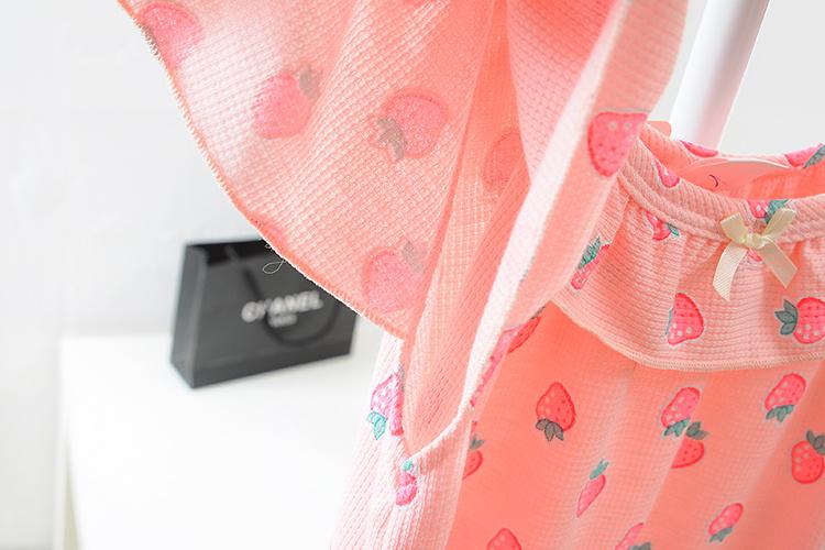夏天可爱公主清新甜美睡衣