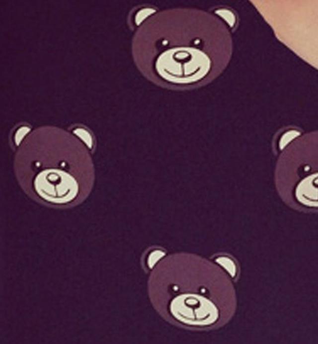 韩版可爱卡通小熊t恤