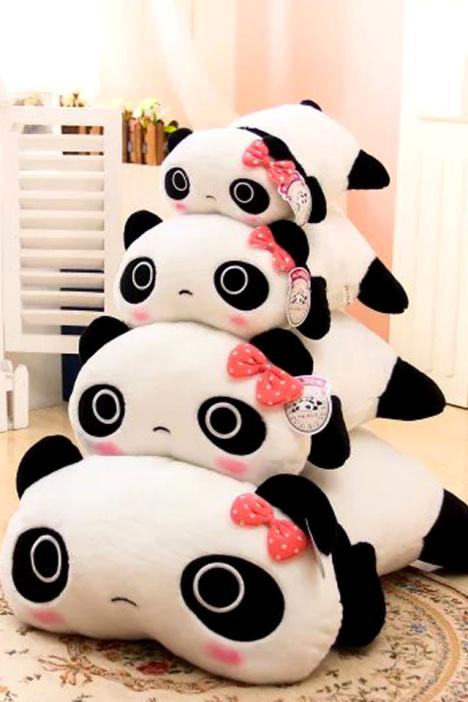 抱枕,靠枕,腰枕,熊猫公仔,趴趴熊猫,能猫抱枕,生日礼物,闺蜜礼物,儿童