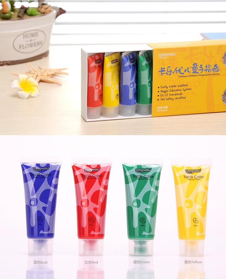 【5色幼儿手指印画颜料套装】-母婴-文具礼盒/绘画