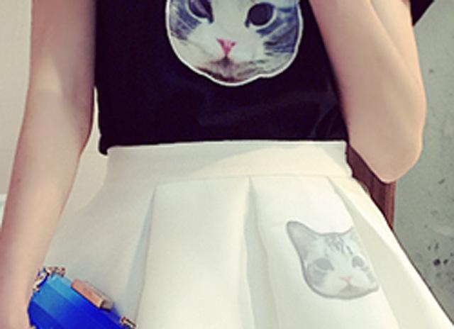 【小可爱两件套】-衣服-套装/学生校服/工作制服_时尚