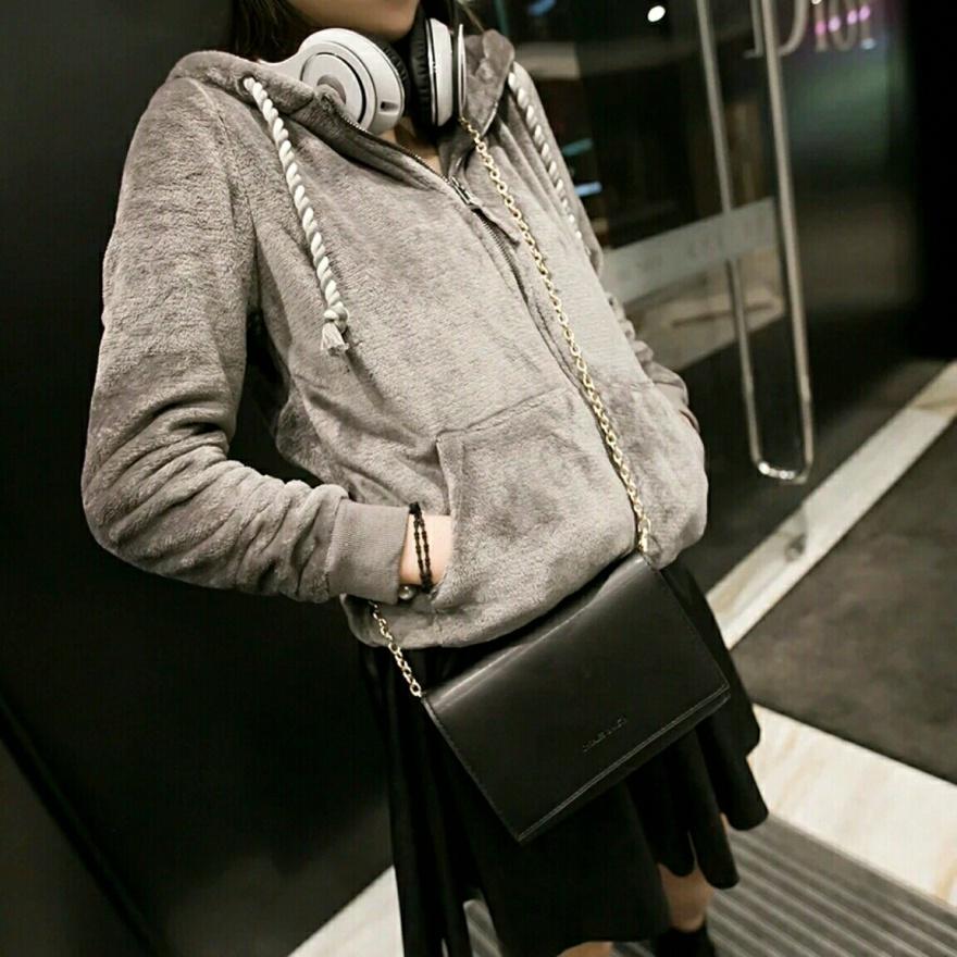 链条小方包单肩斜跨迷你拂尘2015新款韩版复古时尚潮流包包单肩包女包马尾毛图片