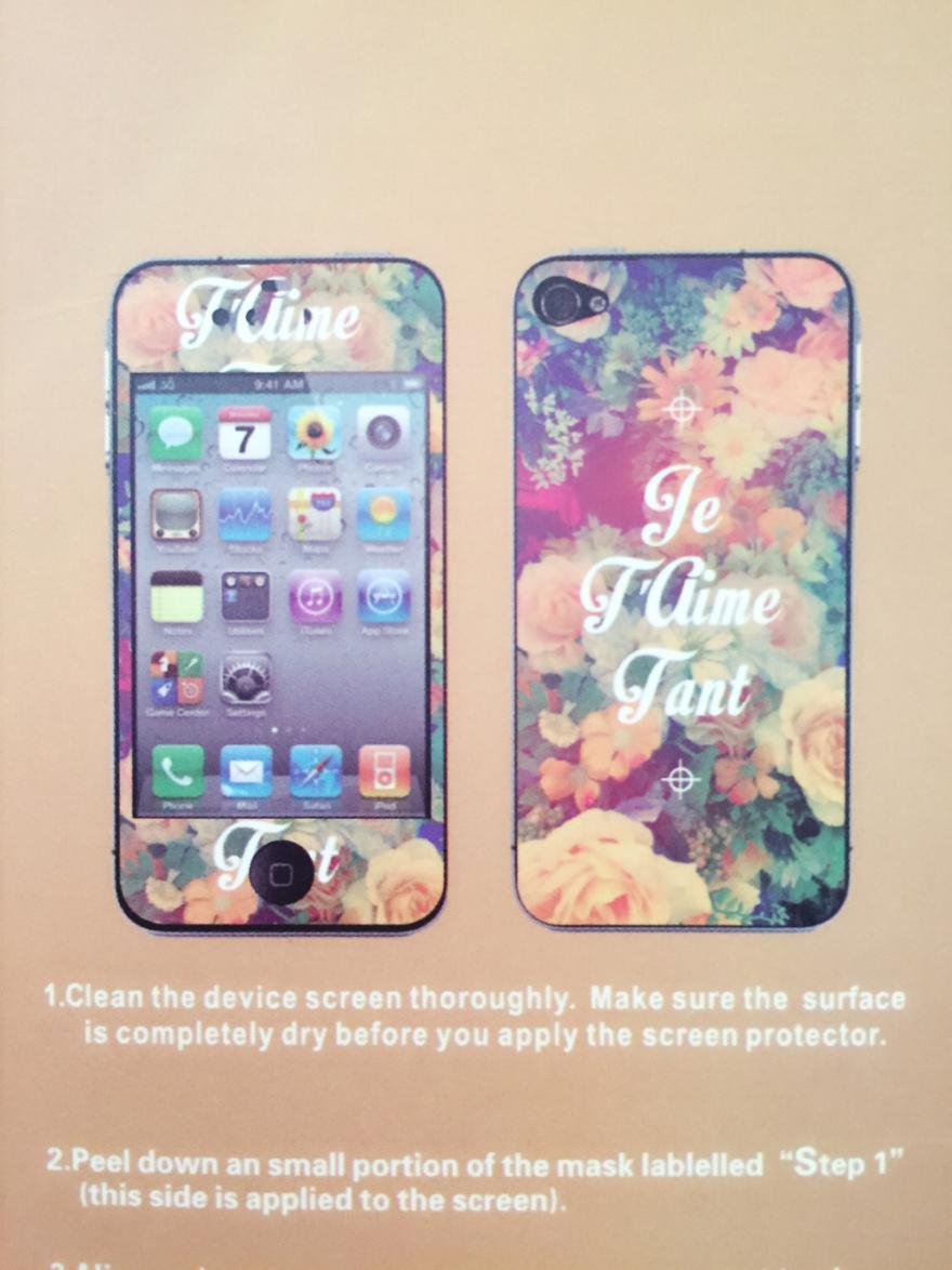 iphone5/5s 彩膜