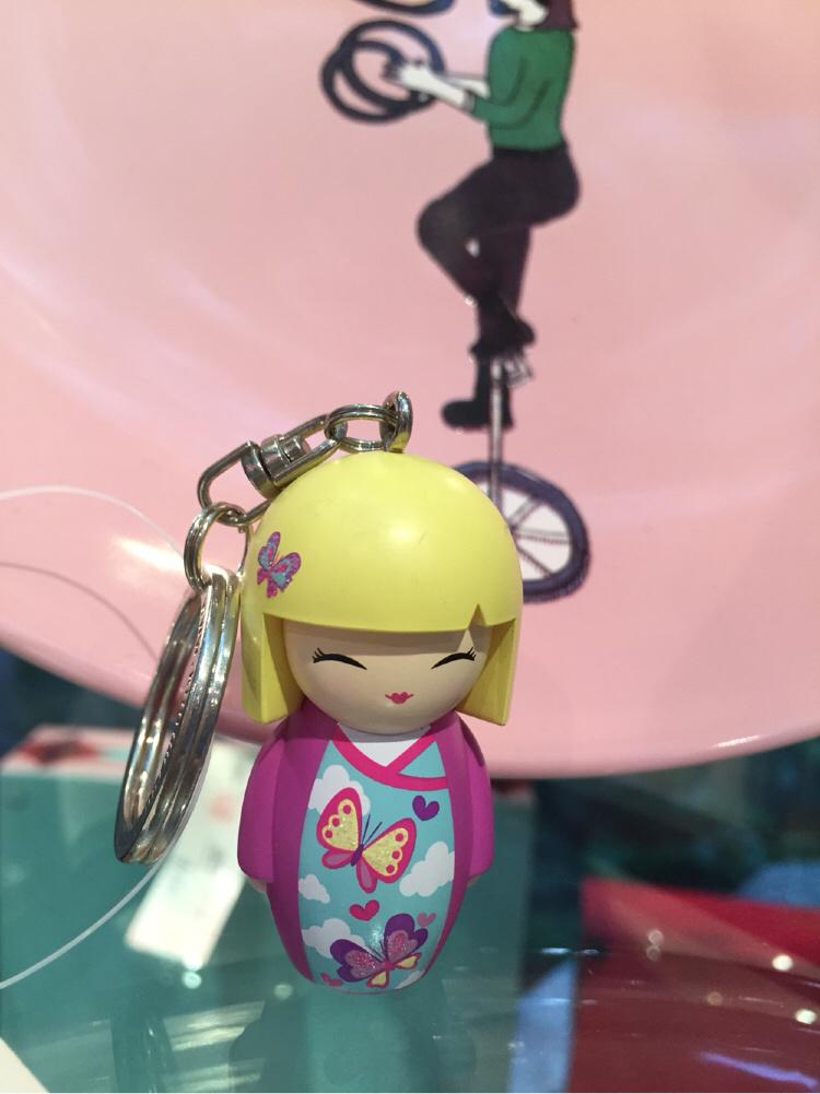 可爱娃娃-钥匙扣