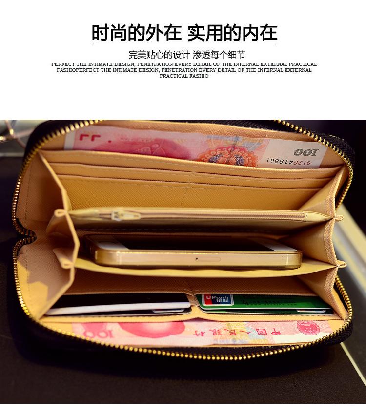 【叶子包铺纯手工编制手拿钱包】-包包-箱包皮具/女包