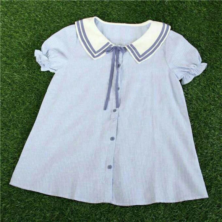 可爱娃娃衫,穿上绝对好看!
