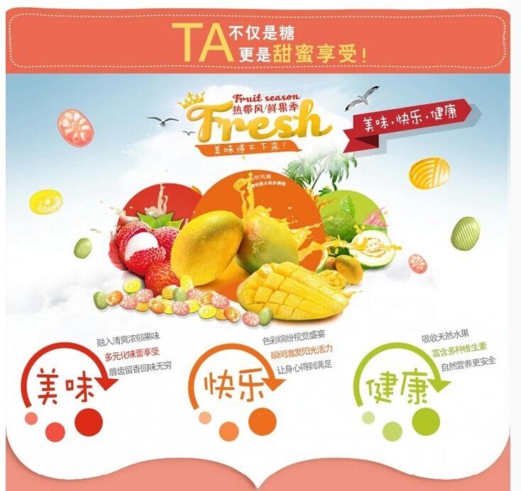 休闲食品:水果糖,女神必备,吃货必备,台湾进口 森永hellokitty粒舒糖
