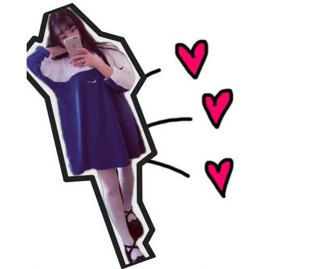 韩国ulzzang 古着刺绣款polo连衣裙 长袖!这是长袖
