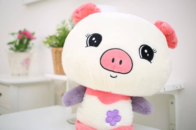 萌萌哒~可爱亚丁猪公仔