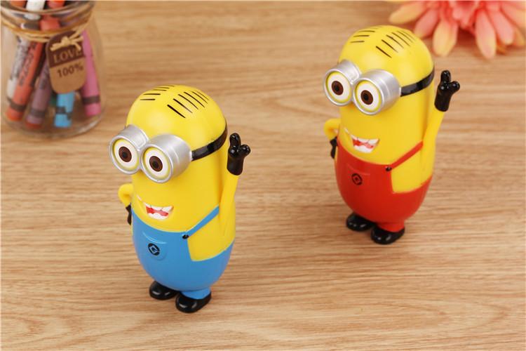 小黄人移动电源8000毫安 创意可爱型充电宝