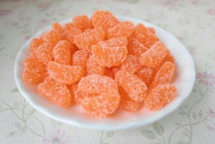 橘子瓣软糖.[花心][花心