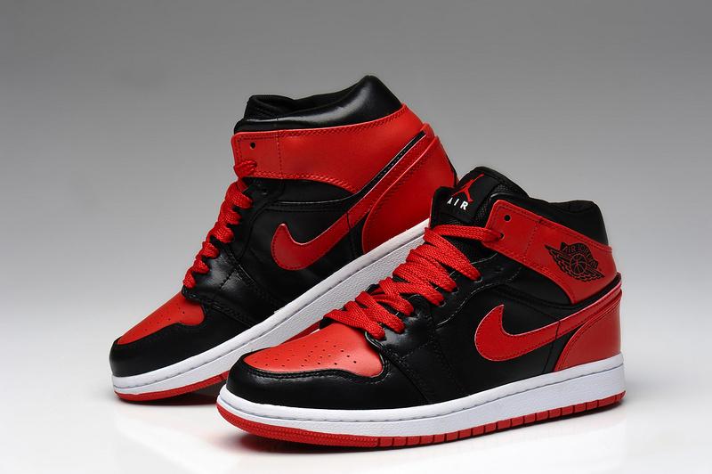 【乔1黑红篮球鞋】-鞋子-篮球鞋