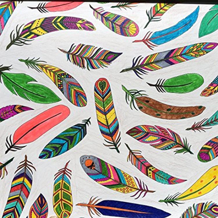 魔法森林《秘密花园》新续作 风潮全球涂色填色书 减压涂鸦绘本
