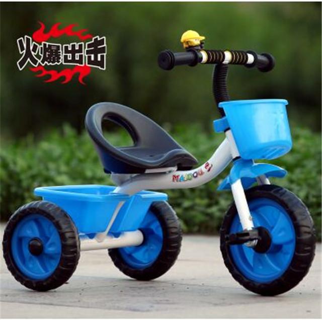 儿童三轮车童车小孩自行车脚踏车表演车玩具单车