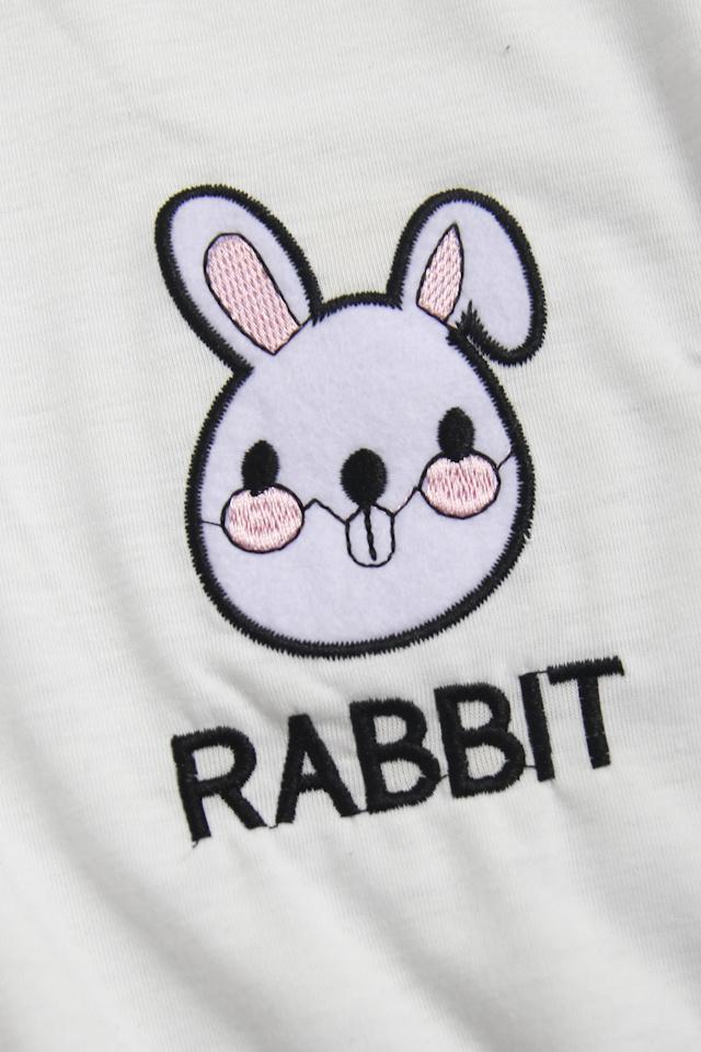 可爱卡通兔子t恤