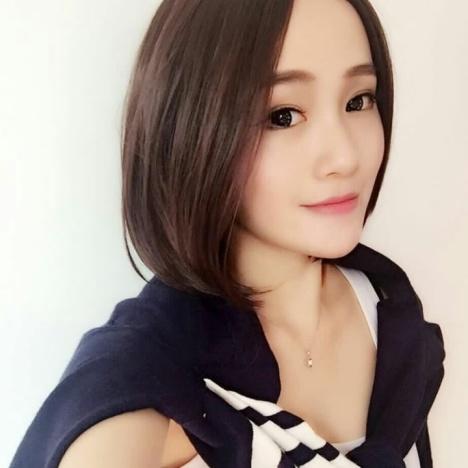 【韩国发型中分短发假发女生逼真气质波波头假发蓬松