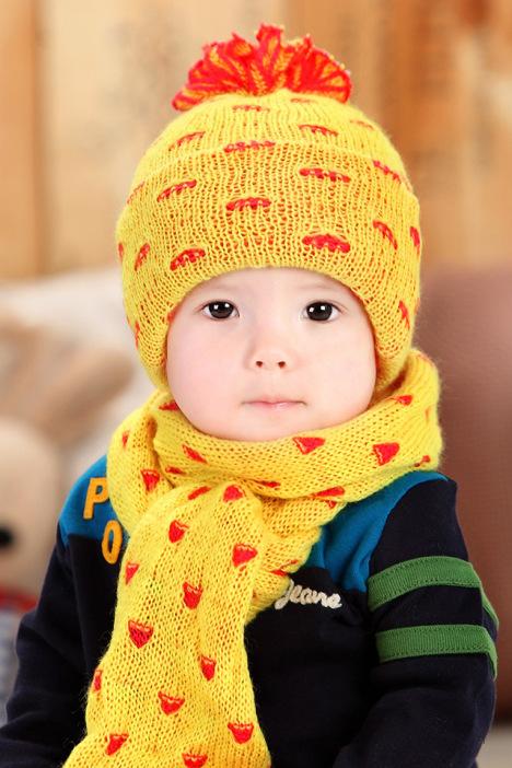 公主妈妈宝宝帽子婴儿童帽冬季可爱小菠萝护耳帽男女