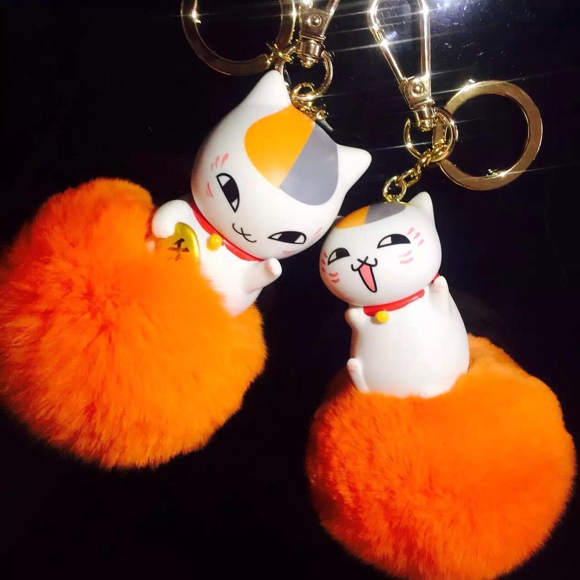 好货一生推#小贱猫~毛茸茸的是兔毛噢~表情好贱噢~ #猫咪手工制作图片