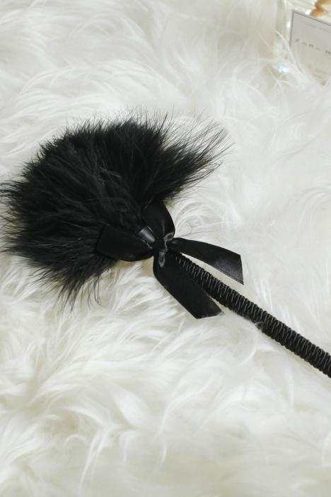 管阿姨十点半情趣撩拨羽毛短黑色棒a0216大型沈阳情趣用品图片
